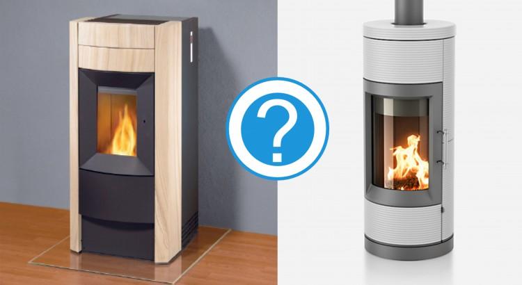 Stufa a pellet o stufa a legna - Stufe a legna per riscaldamento ...